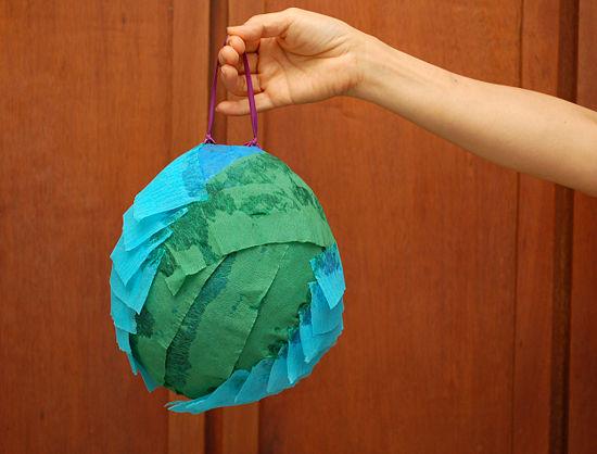Пиньяты из шарика своими руками